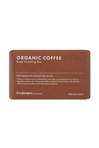 Organic Coffee Body Polishing Bar