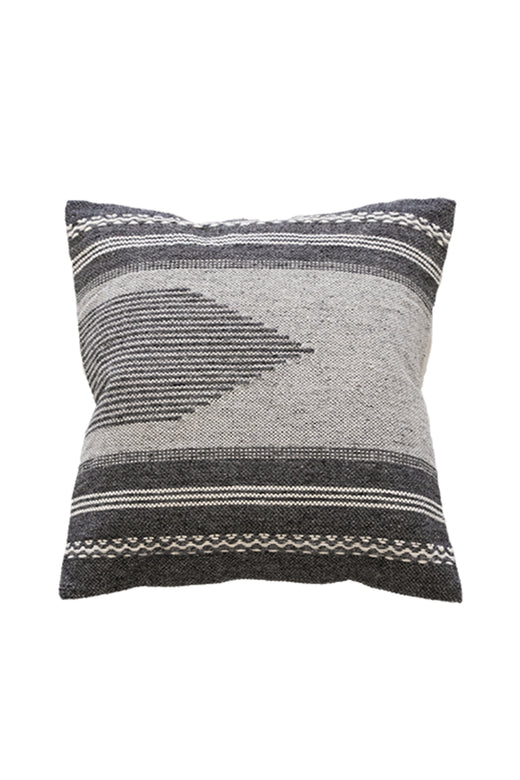 Sosso Grey Aztec Cushion 50x50cm