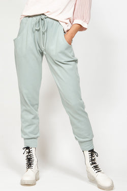 Stage Cotton Comfy Sage Track Pant