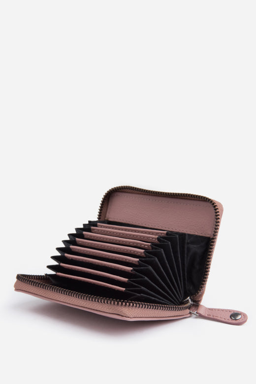 Hunter Dusty Rose Card Wallet