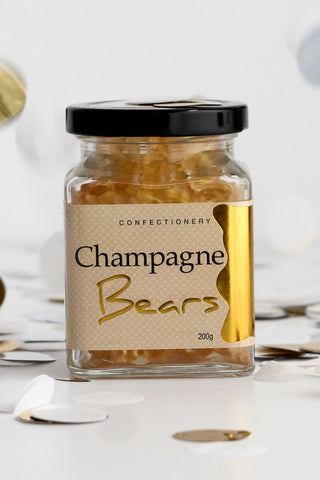 Champagne Bears Gold Jar 200g