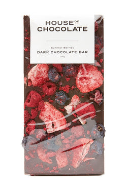 Beautiful Summer Berries Dark Chocolate Bar