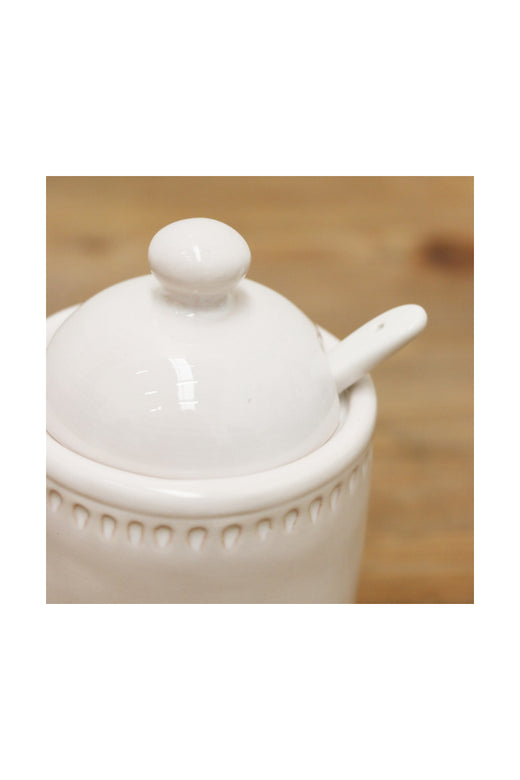White Sumner Sugar Bowl