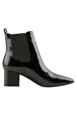 Teddy Black Patent Boot