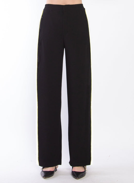 Timing Side Tape Track Style Black Pant