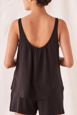 Tilly Black Cotton Cami