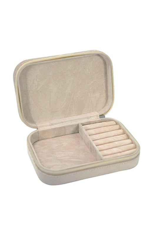 Travel Jewellery Box Champagne