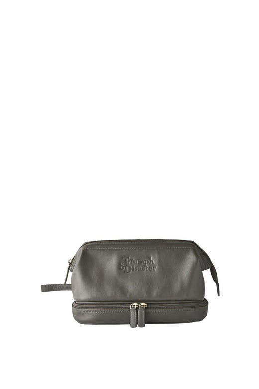Frank The Dopp Leather Toilet Bag Olive