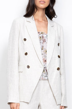Vice Natural Linen Blazer