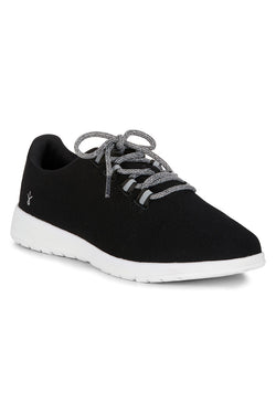 Barkly Black Wool Sneaker