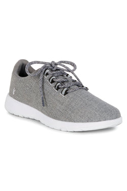 Barkly Grey Wool Sneaker