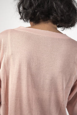 The Dream Pink Knit Tee