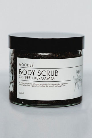 Coffee + Bergamot Body Scrub 250g