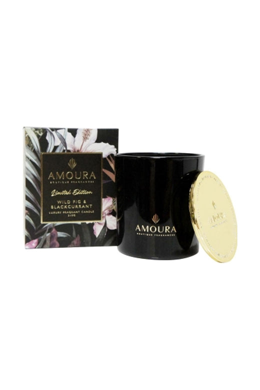 Wild Fig + Blackcurrent Luxury Candle 100g