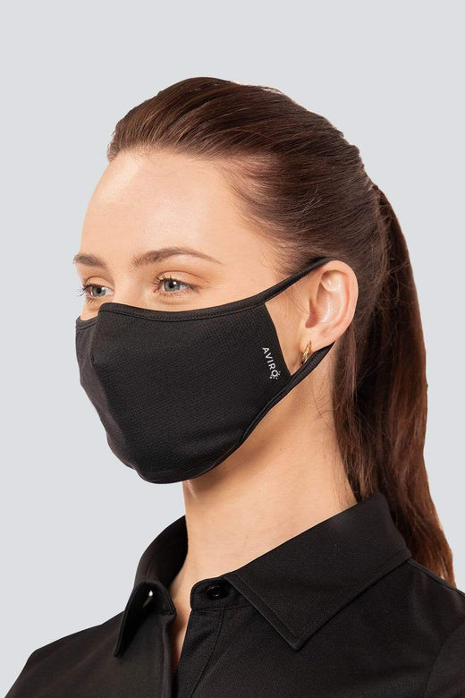 Antiviral Black Face Mask