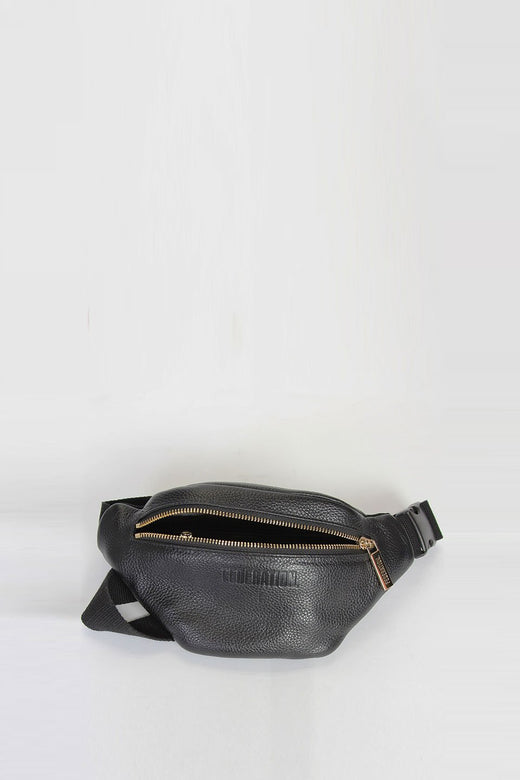 The Pocket Black Bum Bag
