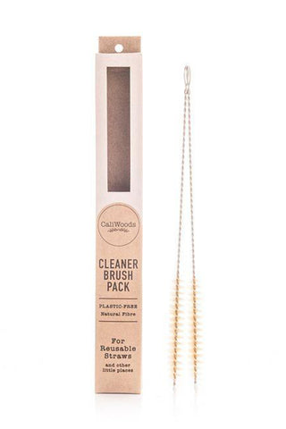 Natural Fibre Stainless Steel Cleaner Brush Pack