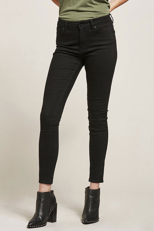 Mid Licks Satellite Black Denim Jean