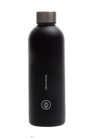 Lifetime Black Charcoal Thermal Bottle