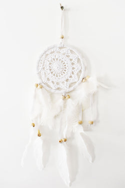 Small Dream Catcher White