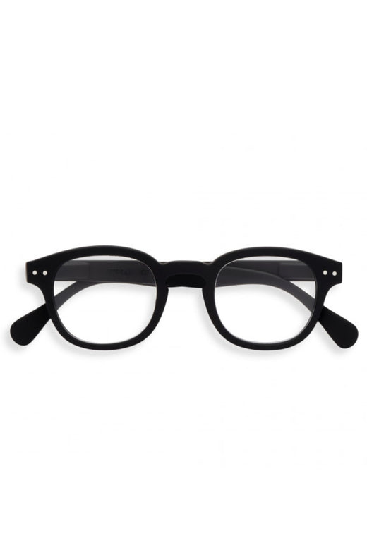 Black E Reading Glasses