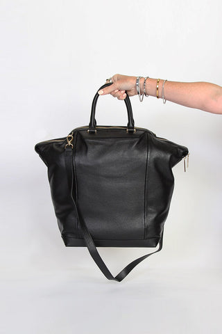 The Ever Black Large Tote Bag