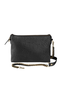 Everywhere Leather Clutch with inner pockets