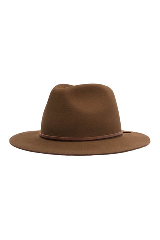 Wesley Fedora Coffee Hat