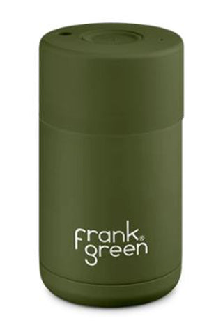 Stainless Steel Reuseable Khaki Cup 10oz