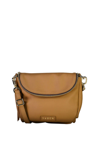Fifi Clay Leather Shoulder Bag