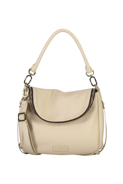 Frankie Fold Over Chalk Shoulder Bag