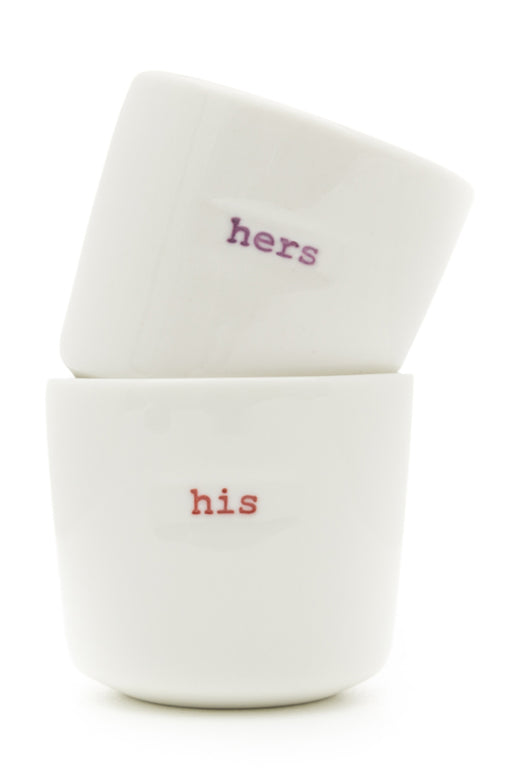 His and Hers Egg Cup Set