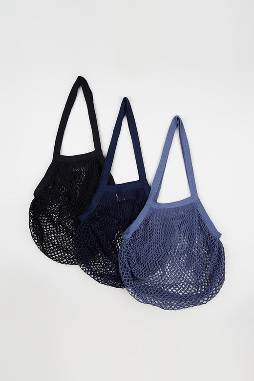 Organic Cotton Black String Bags