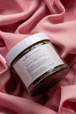 Ritual Mocha Body Polish in Jar