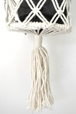 Macrame Single Plant Hanger Natural