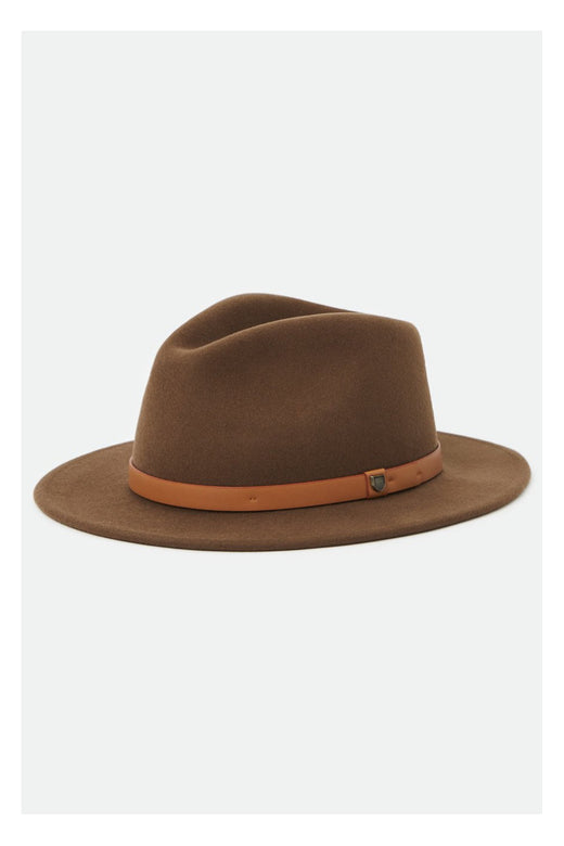 Messer Fedora Toffee Wool Felt Hat