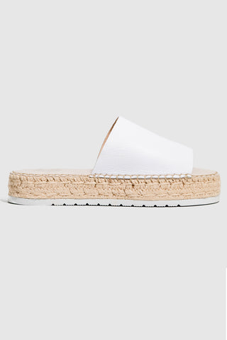 Mode Espadreille Milk Slide