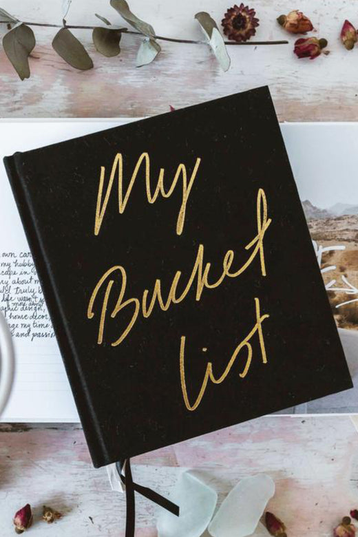 My Bucket List Black Journal