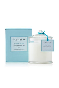 Triple Scented Bora Bora Large Candle 350g