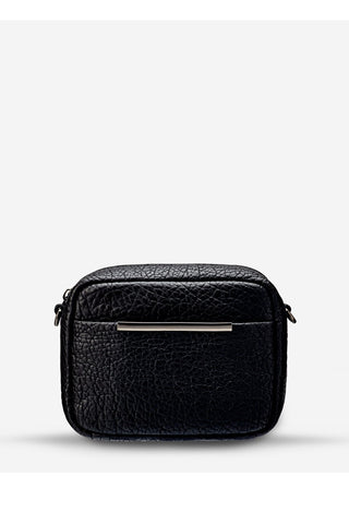 Cult Crossbody with Chain Black Bubble Bag