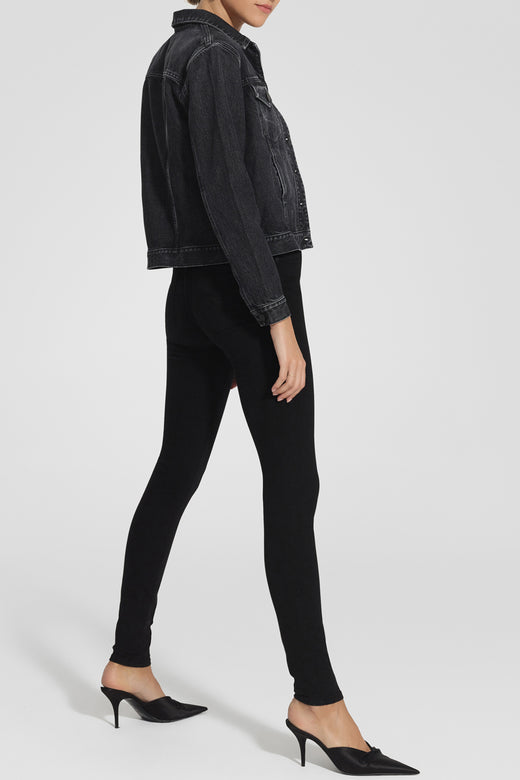 Cult Skinny Ankle Power Black HR Denim Jean