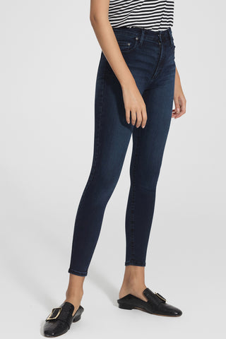 Cult Skinny Ankle Rebel Dark Indigo Denim Jean