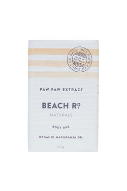 Paw Paw & Organic Coconut Oil Body Bar