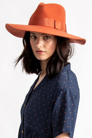 Piper Autumn Wool Felt Hat