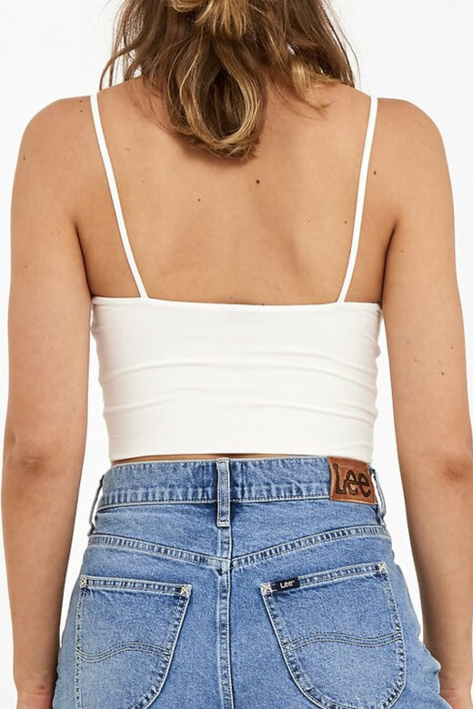 Piper Vintage White Cropped Cami
