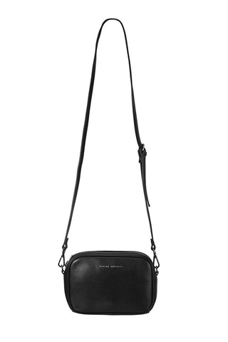 Plunder Cross Body Black Bag