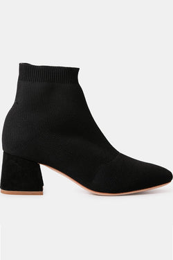 Realm Stretch Knit Black Boot