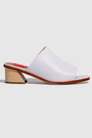 Scope Heeled Vanilla Mule