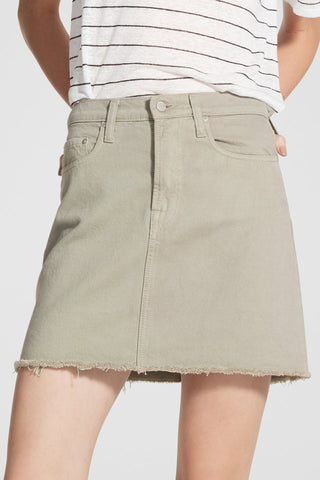Piper Clean Sage Denim Skirt