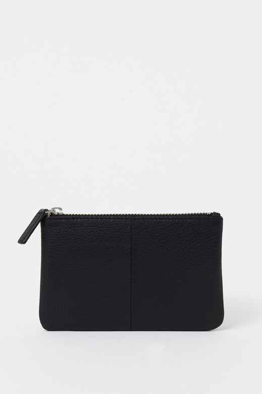 Zippy Small Black Coin Purse